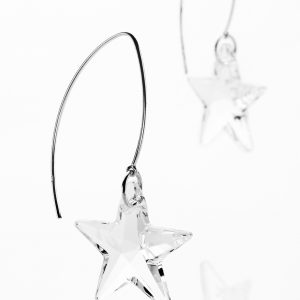 Catch A Shooting Star Trail Wire Earrings