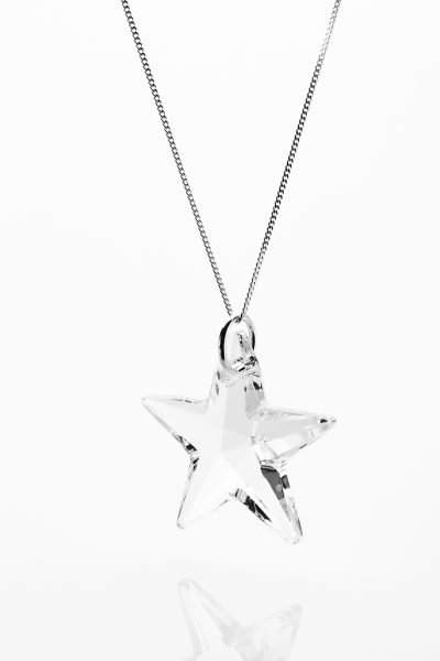 Catch a Shooting Star Necklace - 2.5cm star.