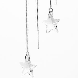 Catch A Shooting Star (Threader) Earrings