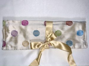 Upcycled Silk Luxury Jewellery Roll