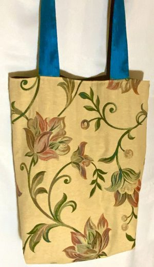 'Tree Of Life II' Upcycled Tote Bag