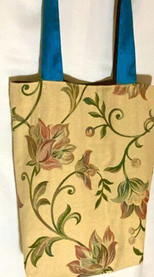 'Tree Of Life II' Upcycled Tote Bag