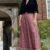 Vintage heirloom bejewelled skirt